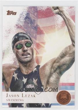 2012 Topps U.S. Olympic Team and Olympic Hopefuls Bronze #31 - Jason Lezak
