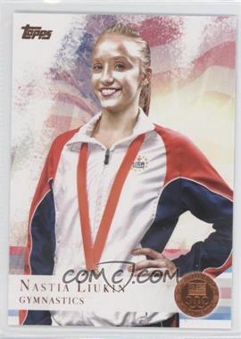 2012 Topps U.S. Olympic Team and Olympic Hopefuls Bronze #43 - Nastia Liukin