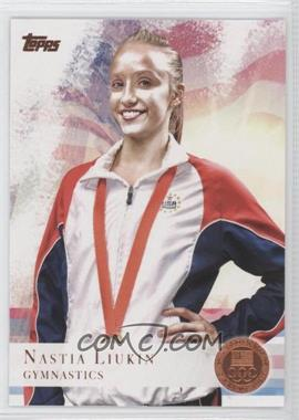 2012 Topps U.S. Olympic Team and Olympic Hopefuls Bronze #43 - Nastia Liukin