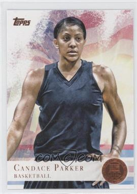 2012 Topps U.S. Olympic Team and Olympic Hopefuls Bronze #46 - Candace Parker