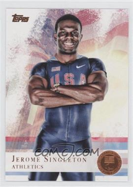 2012 Topps U.S. Olympic Team and Olympic Hopefuls Bronze #48 - Jerome Singleton