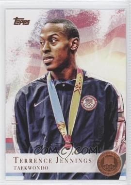 2012 Topps U.S. Olympic Team and Olympic Hopefuls Bronze #55 - Terrence Jennings