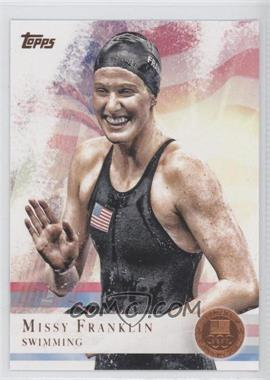 2012 Topps U.S. Olympic Team and Olympic Hopefuls Bronze #59 - Missy Franklin