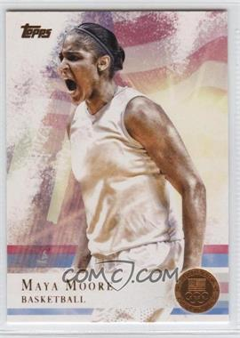 2012 Topps U.S. Olympic Team and Olympic Hopefuls Bronze #60 - Maya Moore