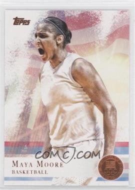 2012 Topps U.S. Olympic Team and Olympic Hopefuls Bronze #60 - Maya Moore