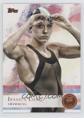 2012 Topps U.S. Olympic Team and Olympic Hopefuls Bronze #65 - Jessica Long