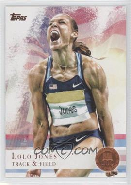2012 Topps U.S. Olympic Team and Olympic Hopefuls Bronze #70 - Lolo Jones