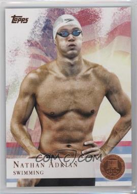 2012 Topps U.S. Olympic Team and Olympic Hopefuls Bronze #87 - Nathan Adrian