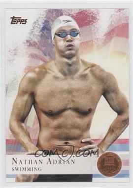 2012 Topps U.S. Olympic Team and Olympic Hopefuls Bronze #87 - Nathan Adrian