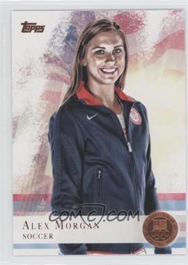 2012 Topps U.S. Olympic Team and Olympic Hopefuls Bronze #90 - Alex Morgan