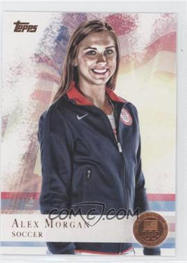 2012 Topps U.S. Olympic Team and Olympic Hopefuls Bronze #90 - Alex Morgan