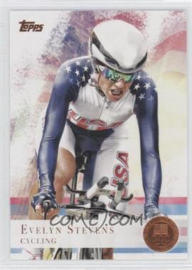 2012 Topps U.S. Olympic Team and Olympic Hopefuls Bronze #96 - Evelyn Stevens