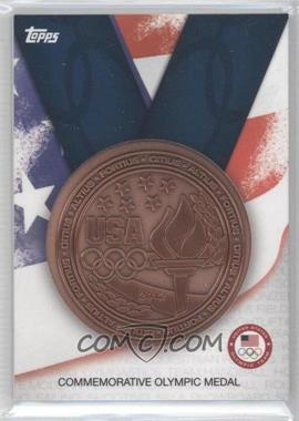 2012 Topps U.S. Olympic Team and Olympic Hopefuls Commemorative Olympic Medal #OM-B - Bronze Medal