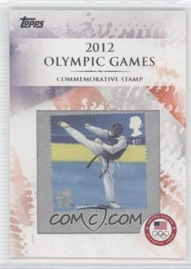 2012 Topps U.S. Olympic Team and Olympic Hopefuls Commemorative Stamps #CS-14 - Taekwondo