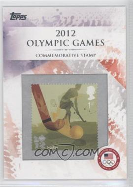 2012 Topps U.S. Olympic Team and Olympic Hopefuls Commemorative Stamps #CS-17 - Hockey