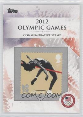 2012 Topps U.S. Olympic Team and Olympic Hopefuls Commemorative Stamps #CS-22 - Athletics: Field