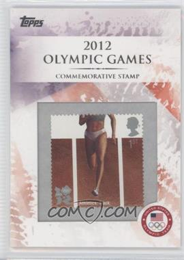 2012 Topps U.S. Olympic Team and Olympic Hopefuls Commemorative Stamps #CS-3 - Athletics: Track