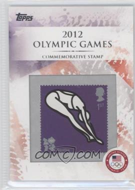 2012 Topps U.S. Olympic Team and Olympic Hopefuls Commemorative Stamps #CS-4 - Aquatics