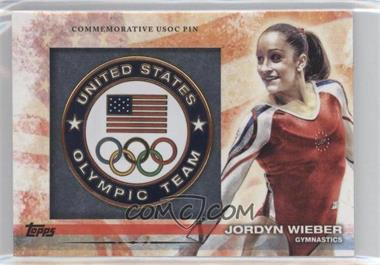 2012 Topps U.S. Olympic Team and Olympic Hopefuls Commemorative USOC Pin #PIN-JW - Jordyn Wieber