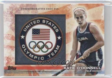 2012 Topps U.S. Olympic Team and Olympic Hopefuls Commemorative USOC Pin #PIN-KOD - Katie O'Donnell