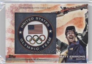 2012 Topps U.S. Olympic Team and Olympic Hopefuls Commemorative USOC Pin #PIN-ME - Matt Emmons