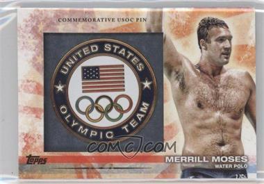 2012 Topps U.S. Olympic Team and Olympic Hopefuls Commemorative USOC Pin #PIN-MEM - [Missing]