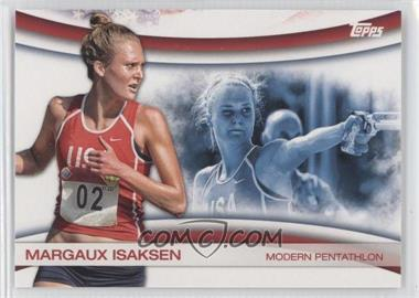 2012 Topps U.S. Olympic Team and Olympic Hopefuls Games of the XXX Olympiad #OLY-14 - Margaux Isaksen