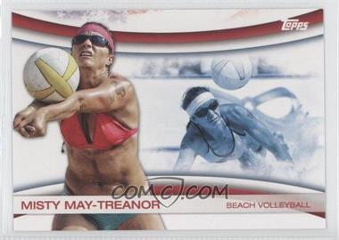 2012 Topps U.S. Olympic Team and Olympic Hopefuls Games of the XXX Olympiad #OLY-4 - Misty May-Treanor