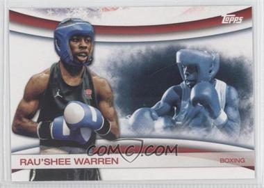 2012 Topps U.S. Olympic Team and Olympic Hopefuls Games of the XXX Olympiad #OLY-5 - Rau'Shee Warren