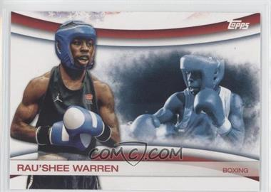 2012 Topps U.S. Olympic Team and Olympic Hopefuls Games of the XXX Olympiad #OLY-5 - Rau'Shee Warren
