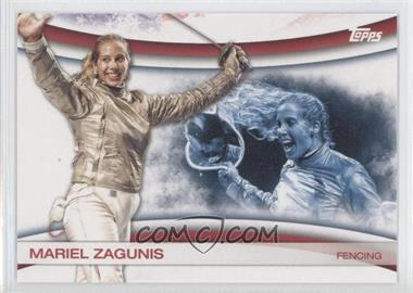 2012 Topps U.S. Olympic Team and Olympic Hopefuls Games of the XXX Olympiad #OLY-9 - Mariel Zagunis