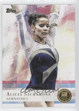 2012 Topps U.S. Olympic Team and Olympic Hopefuls Gold #11 - Alicia Sacramone