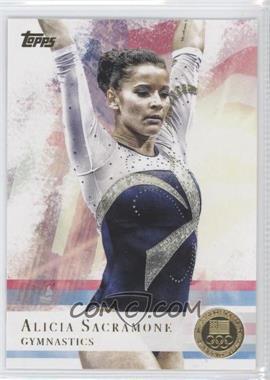 2012 Topps U.S. Olympic Team and Olympic Hopefuls Gold #11 - Alicia Sacramone