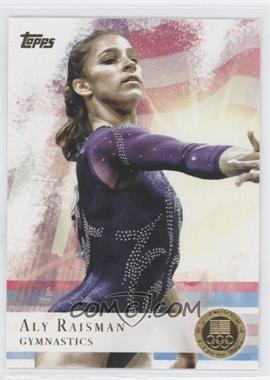 2012 Topps U.S. Olympic Team and Olympic Hopefuls Gold #15 - Aly Raisman