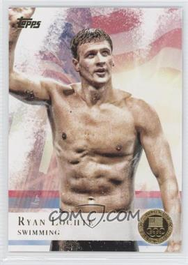 2012 Topps U.S. Olympic Team and Olympic Hopefuls Gold #17 - Ryan Lochte