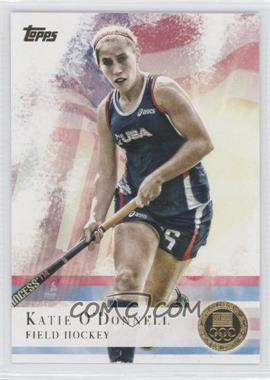 2012 Topps U.S. Olympic Team and Olympic Hopefuls Gold #23 - Katie O'Donnell