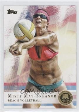 2012 Topps U.S. Olympic Team and Olympic Hopefuls Gold #40 - Misty May-Treanor