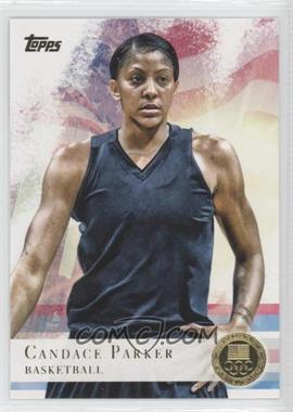 2012 Topps U.S. Olympic Team and Olympic Hopefuls Gold #46 - Candace Parker