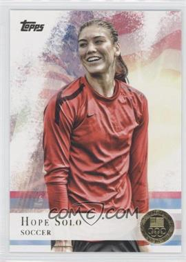 2012 Topps U.S. Olympic Team and Olympic Hopefuls Gold #50 - Hope Solo