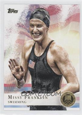 2012 Topps U.S. Olympic Team and Olympic Hopefuls Gold #59 - [Missing]