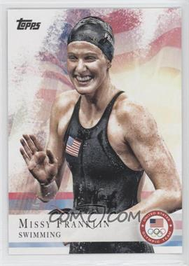 2012 Topps U.S. Olympic Team and Olympic Hopefuls Gold #59 - Missy Franklin