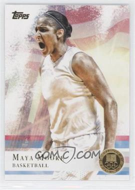 2012 Topps U.S. Olympic Team and Olympic Hopefuls Gold #60 - Maya Moore