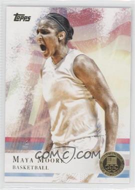 2012 Topps U.S. Olympic Team and Olympic Hopefuls Gold #60 - Maya Moore