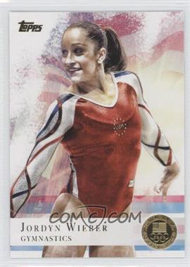 2012 Topps U.S. Olympic Team and Olympic Hopefuls Gold #78 - Jordyn Wieber