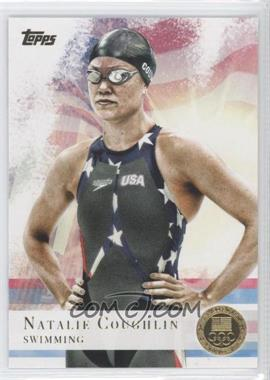 2012 Topps U.S. Olympic Team and Olympic Hopefuls Gold #9 - Natalie Coughlin