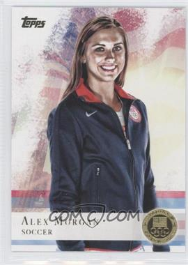 2012 Topps U.S. Olympic Team and Olympic Hopefuls Gold #90 - Alex Morgan