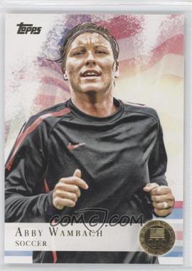 2012 Topps U.S. Olympic Team and Olympic Hopefuls Gold #93 - Abby Wambach