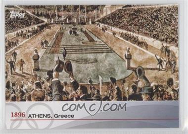 2012 Topps U.S. Olympic Team and Olympic Hopefuls Heritage of the Games #OH-I - 1896 Athens, Greece