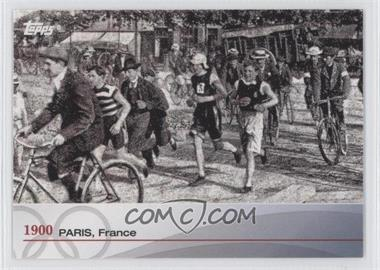 2012 Topps U.S. Olympic Team and Olympic Hopefuls Heritage of the Games #OH-II - 1900 Paris, France