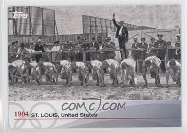 2012 Topps U.S. Olympic Team and Olympic Hopefuls Heritage of the Games #OH-III - 1904 St. Louis, United States